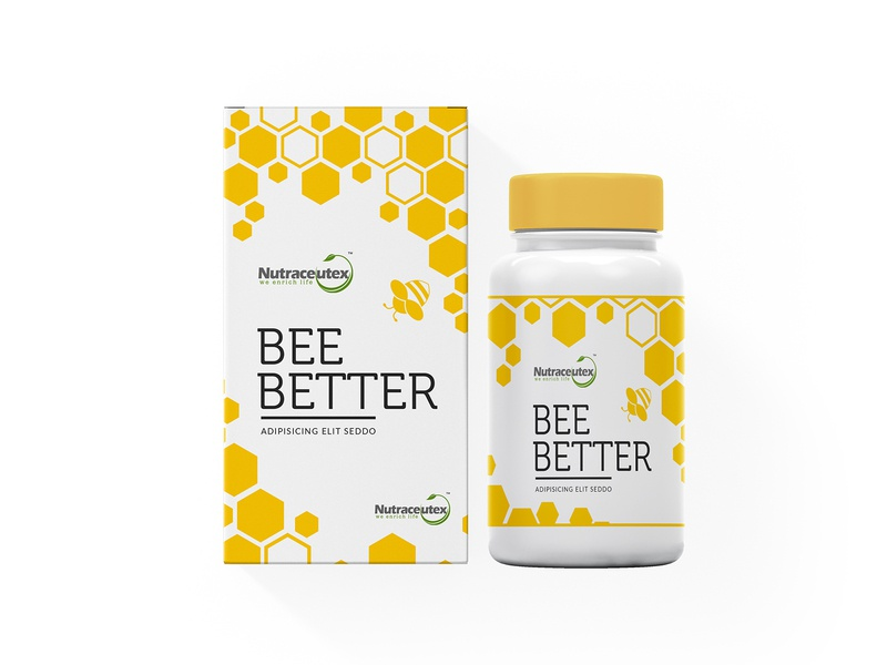 Bee Better Packaging Design medical packaging design packagingpro design logo package label brand product packaging