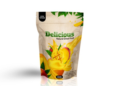 Natural Fruits Packing Design