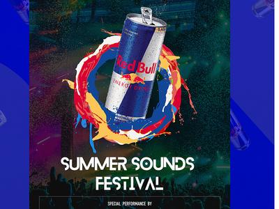 Red Bull Festival Poster