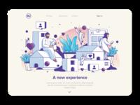 illustration Set / webpage