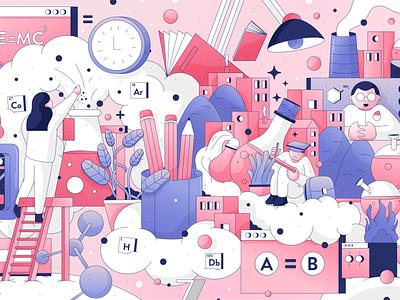 Timersive illustration vector art illustration art illustrations ui design uidesign ui designs virtual color design character art illustrator vector flat doodle logo graphic icon illustration