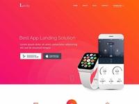 Landy – App Landing Page