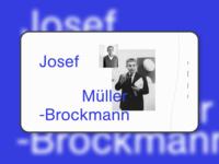 Josef Müller-Brockmann website