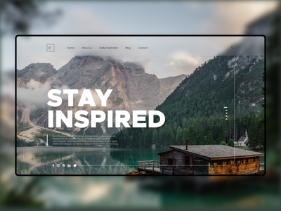 UI Design - Stay Inspired