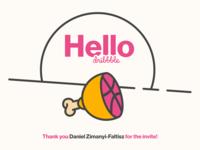 Hello Dribbble! 🍋