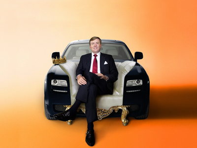 🔸🔶🇳🇱King's Day! 👑Let the fun begin! 🇳🇱🔶🔸 sonkas citrom marton kocsis automotive photoshop photo manipulation king koningsdag kings day