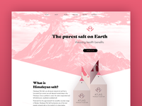 Atlas Salt Website Design