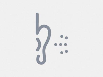 Hearing - Human Senses Symbols