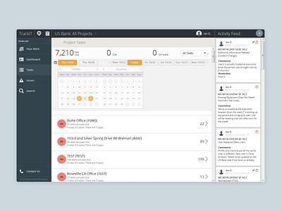TrackIT - Calendar web application design web app ux design ux ui product models forms form field ui design design dashboard dashboad 2013
