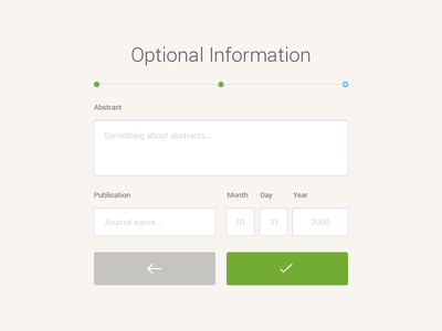 Add Paper Flow ui ux user interface user experience product design web app form