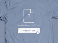 Academia.edu: Open Access T-Shirt