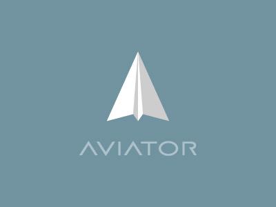 Aviator Logo aviator logo identity