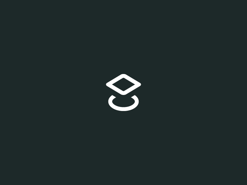 Proto Fund - Mark modern minimal geometric shapes illustration branding icon mark logo