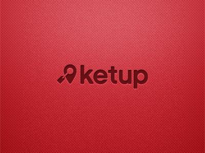 Ketup Logo: Option 1 logo typography app vintage web type vector