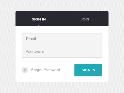 Sign In app ui ux web design mobile iphone mobile web interaction sign in form