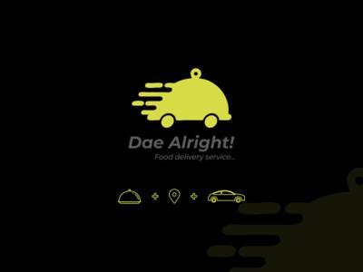 Dea Alright! Logo Design