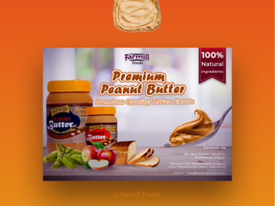 Farmill Peanut Butter Flyer