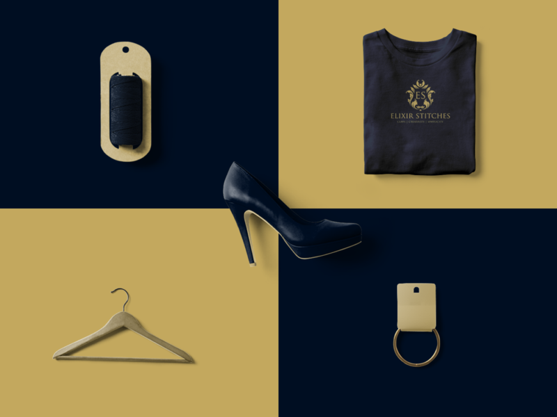Brand Assets 02 hanger wool tag shirt shoe luxury branding design brand identity branding brand