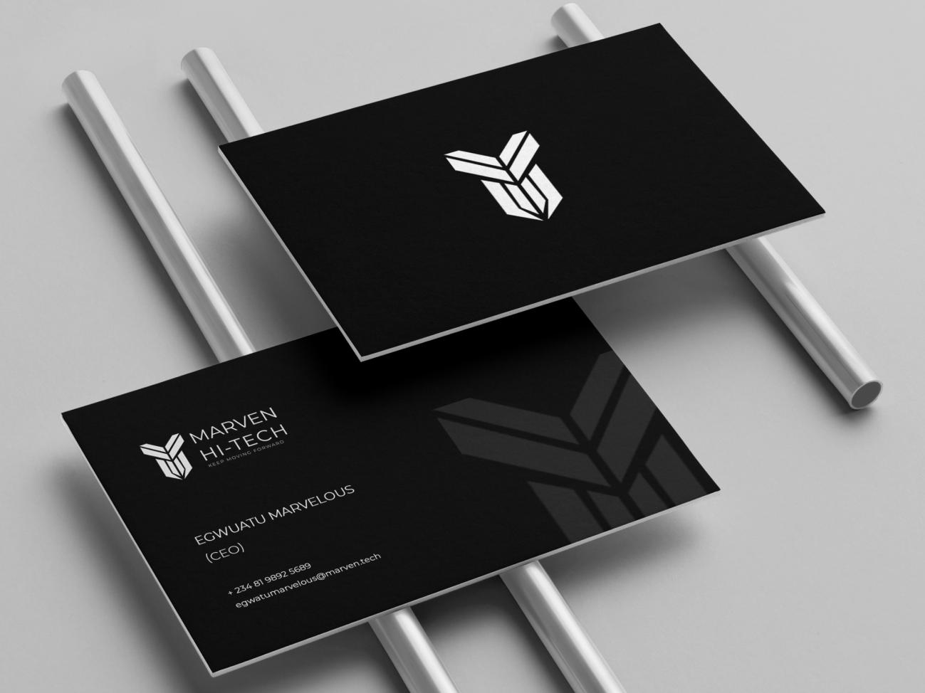 Business card business card stationery branding brand design logo