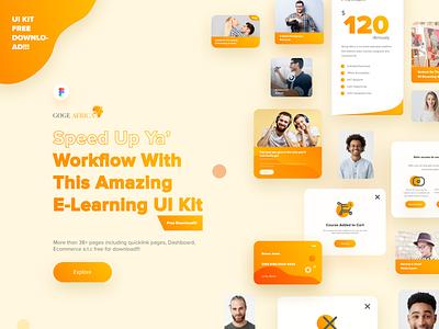 UI Kit Freebie landingpagedesign dashboard ui free downloads online tutoring freebies logo design figma web designers ui designers ui ui  ux