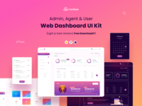 Web Dashboard UI Kit Freebie