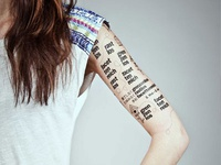 Designmonat Graz 2013 Tattoos
