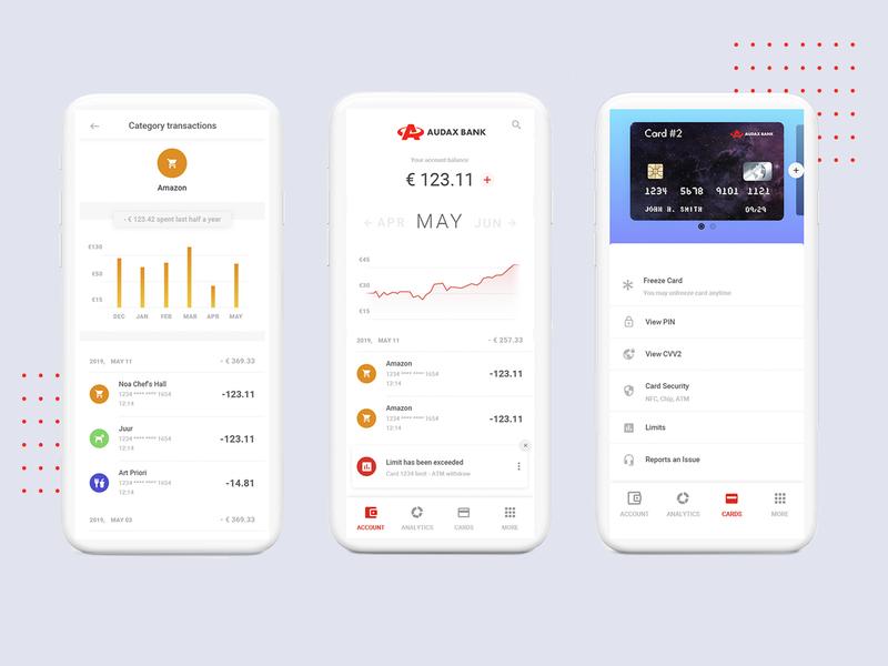 Audax bank. Design concept