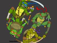 Teenage Mutant Ninja Turtles Shirt Design