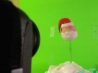 Santa Head from Camera