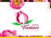 Logo flower woman spa