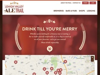 Lehigh Valley Ale Trail Micro Site
