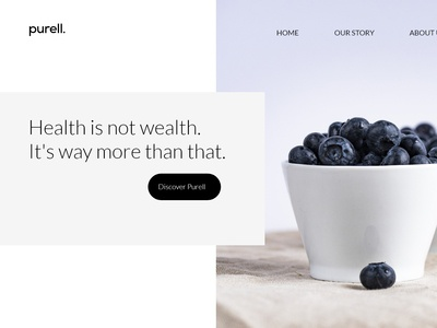 Purell concept UI