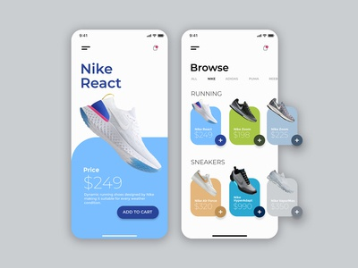 Daily UI | Sneaker Shopping App