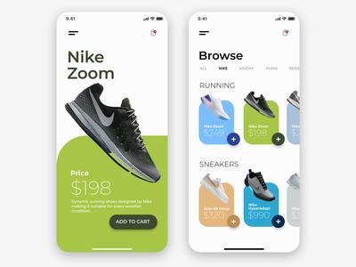 Nike Sneakers | Add to Cart