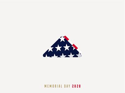 Memorial Day Tribute america usa flag usa flag memorial day illustration