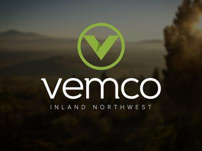 Branding | Vemco ambient media logo branding identity industrial engineering hard shadow