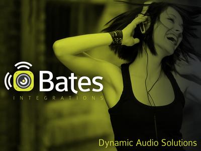 Branding | Bates Integrations ambient media logo identity branding ambient audio speaker subwoofer