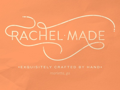 Rachel Made Products ambient media logo identity branding ambient