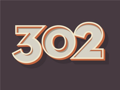 302 Typography ambient typography numbers