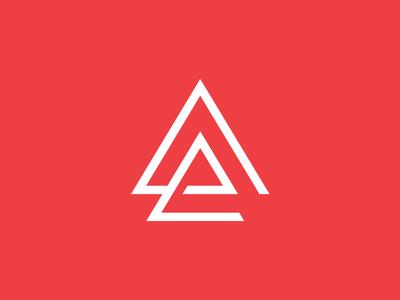 Logo mark arrows triangle logomark logo branding identity