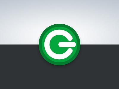 Greenpotech - Brand Mark renewable energy green badge logomark logo identity branding brand