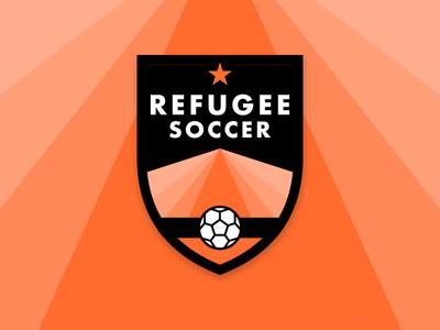 Refugee Soccer revere branding brand mark brand logomark refugee nation sports emblem crest badge logo soccer