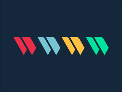 W Brand Mark w monogram logomark brand mark identity logo branding