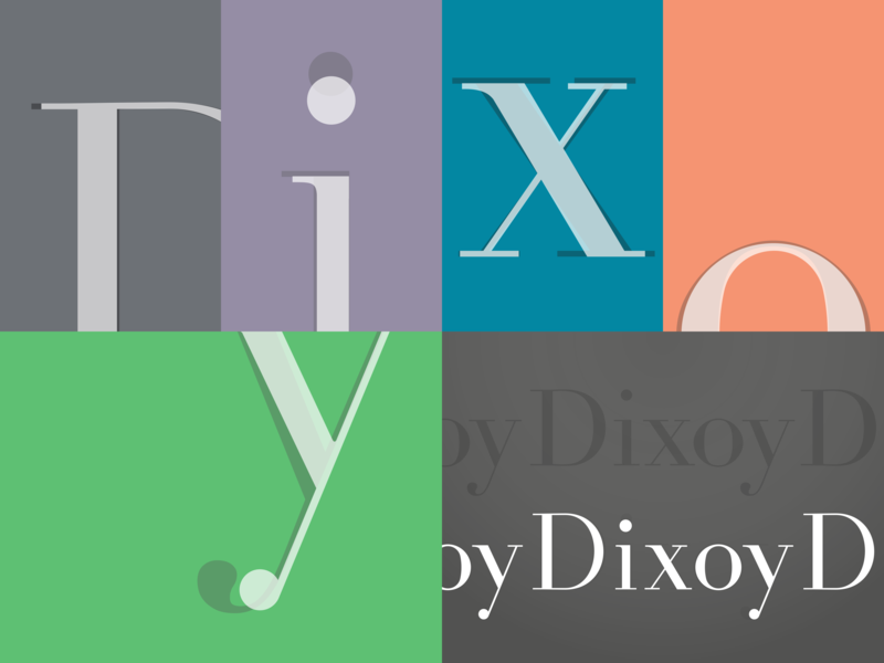 Didone Experiment didone lettering font typography