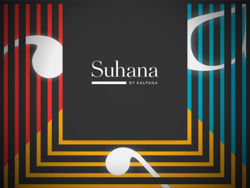 Suhana by Kalpana - New Logo logo font branding typography design