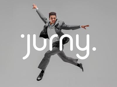 Jurny design typography identity corporate identity brand identity brand branding logo