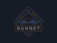 Sunset Restaurant Logo
