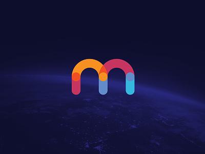 Medutopia Logo education color m corporate identity identity emblem mark logo branding brand