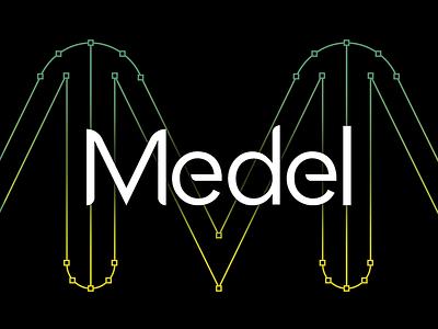 Medel Font soccer football modern sans-serif sansserif typeface medel typography free font