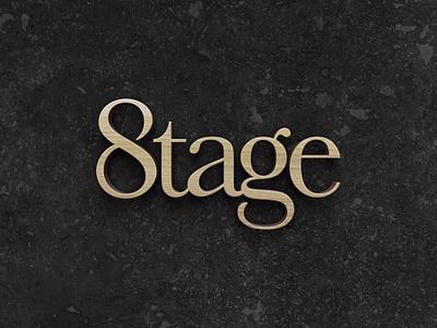 Stage on 8th corporate identity brand identity mark brand typography branding logo
